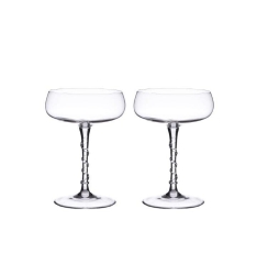 Amalia Champagne Coupe Set of 2