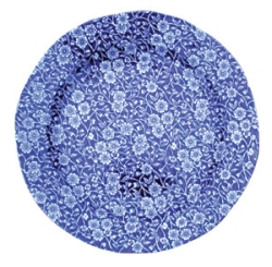 Blue Calico Lunch Plate 8.5