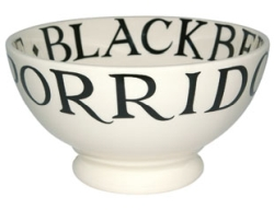 Black Toast and Marmalade French Bowl