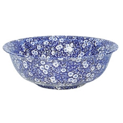 Blue Calico Fruit Bowl - RETIRED