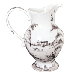Country Estate Flint Lg Footed Pitcher Retired