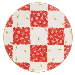 Chess Red/White Everyday Plate