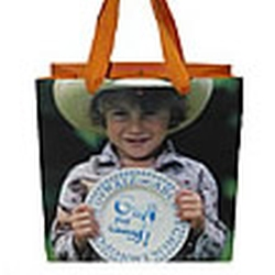 Bridgewater Cowboy Gift Tote Retired