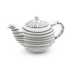Dizzy Grey Classic Teapot -2 sizes