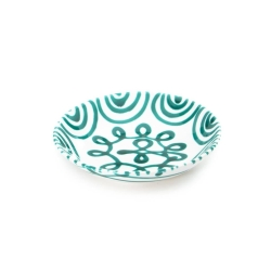 Dizzy Green Coupe Soup Bowl