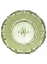 Colette Dessert Plate Green-set/4 (1 set available)