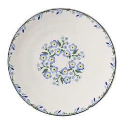 Forget Me Not Everyday Plate