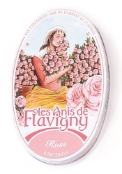 Rose Tin Candy