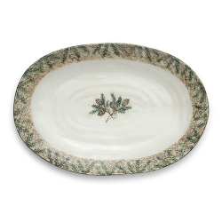 Foresta Large Oval Platter