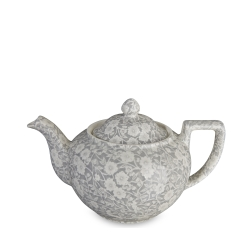 Dove Grey Calico Teapot Large
