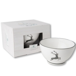 Grey Deer Coupe French Style Cereal Bowl 5.5''