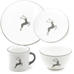 Grey Deer Coupe Place Setting