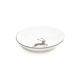 Grey Deer Coupe Soup Plate 7.9''