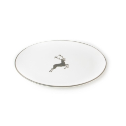 Grey Deer Oval Platter 11