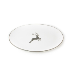 Grey Deer (Stag) Oval Platter 15