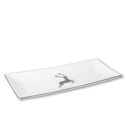 Grey Deer Sandwich Tray 16.5