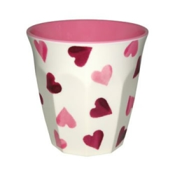 Hearts Melamine Beaker-RETIRED