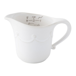 Berry and Thread Whitewash Measuring Cup