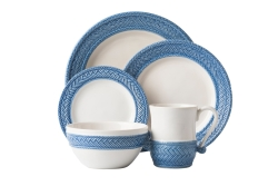 Le Panier White/Delft 5 Pc. Place Setting