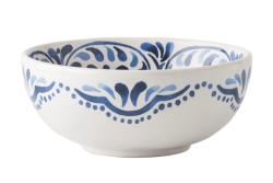 Wanderlust Iberian Journey Indigo Cereal or Ice Cream Bowl