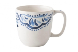 Wanderlust Iberian Journey Indigo Coffee or Tea Cup