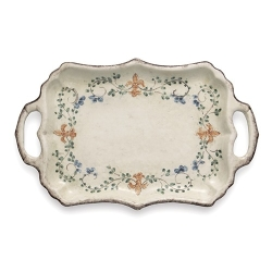 Medici Rectangular Tray with Handles