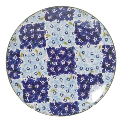 Chess Blue Everyday Plate