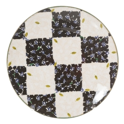 Chess Black/White Everyday Plate