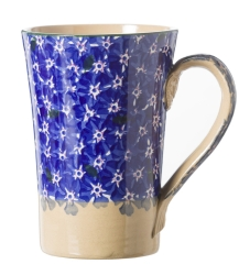 Dark Blue Lawn Tall Mug