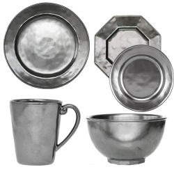 Pewter Place Setting