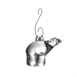 Simon Pearce Polar Bear Ornament