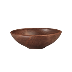 Andrew Pearce Black Walnut Wood Champlain Bowl  - 10 inch
