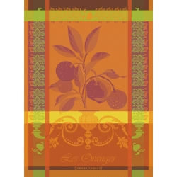 Les Oranges  Saguine Kitchen Towel