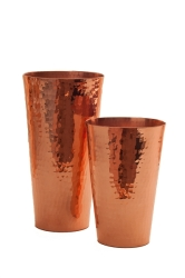 Boston Maraka Shaker Set 2 Hammered Cups