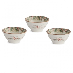 Natale Dipping Bowl Set/3