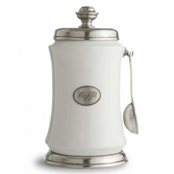 Arte Italica Tuscan Coffee Canister w/Spoon
