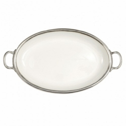 Tuscan Handled Oval Tray