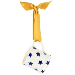 Starry Skies Tiny Mug Tree Decoration Boxed