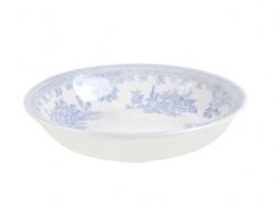 Blue Asiatic Pheasant Butter Pat Dish Covered-on back order 8+ weeks