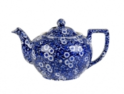 Blue Calico Small Teapot  - April/May