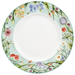 Coronation Meadow Dinner Plate Rim-9 available