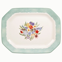 Coronation Meadow Rectangular Dish-1 Available