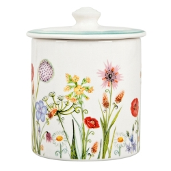 Coronation Meadow Jam Pot w/Spoon-1 available