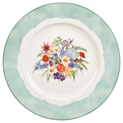 Coronation Meadow Dinner Plate Spray- 3 available