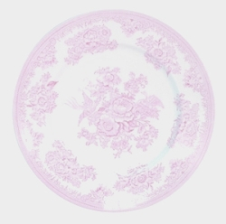 Pink Asiatic Pheasant Lunch Plate