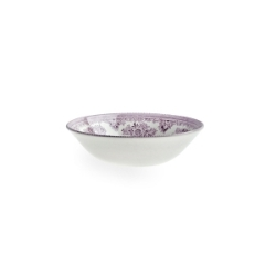 Plum Asiatic Pheasant Cereal Bowl