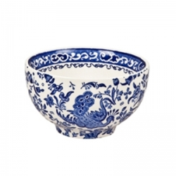 Blue Regal Peacock Large Sugar Bowl