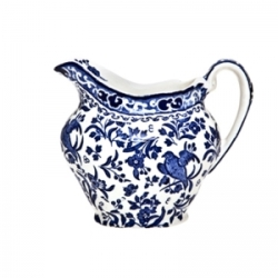 Blue Regal Peacock Cream Jug