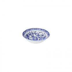 Blue Regal Peacock Cereal Bowl