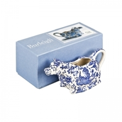 Blue Regal Peacock Boxed Cow Creamer